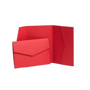 Exclusive Post Box Red Pocketfold Kit